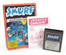 Vintage Atari 2600 Video Game - Smurfs 1983 * BOXED *