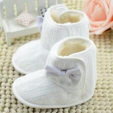 Newborn Baby Infants Toddler Boys Girls Snow Boots Crib Prewalker Booties Shoes