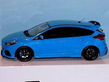 FORD FOCUS RS BLUE LIMITED EDITION 2000 OTTO MOBILE OT200 1/18