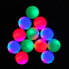 Multicolor Glowing Light-up Flashing LED Electronic Golf Balls for Night Golfing