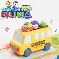 Pororo Mini School Bus Sound Toy Kid Korean Animation Character Figure_NK