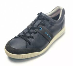 ECCO Men's US 8 / EU 40 Golf Sneakers Soft Spikes Blue Leather