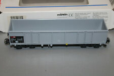Märklin 46901 4-Achser offener Güterwagen Eaos SBB grau Spur H0 OVP