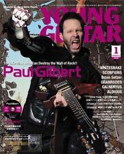 YOUNG GUITAR 2016 January 1 Music Magazine Japan Book Paul Gilbert I CAN DESTROY