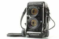 [Exc+5] Mamiya C330 Pro TLR + 105mm f/3.5 Blue Dot Lens from JAPAN