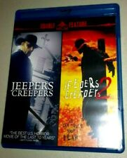 JEEPERS CREEPERS 1 + 2 Double Feature (Blu-ray Disc, 2013, 2-Disc Set) Horror