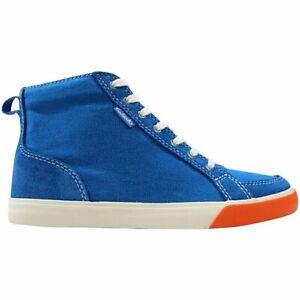 CLARKS Big Kids Club Pop Sneakers Blue Combi
