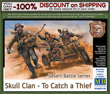 """Master Box 35140 Desert Battle Series, Scull Clan """"To Catch a Thief"""" Scale1/35"""