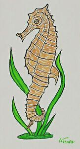 Signed Korner - Seahorse