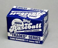 1988 TOPPS TRADED TEAM SETS  U Pick LOW PRICES YANKEES ROOKIES GRACE ALOMAR USA