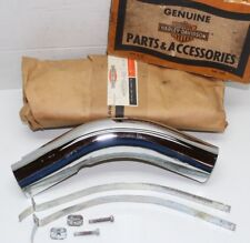 GENUINE Harley Ironhead Sportster XL XLCH Rear Exhaust Pipe Shield 65702-68 NOS