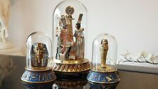 Franklin Mint The Pharaoh and His Queen, and Two Bonus Figurines!