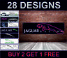 Jaguar Racing Banner per Officina, Garage, Men Cave Retro Meccanico Poster