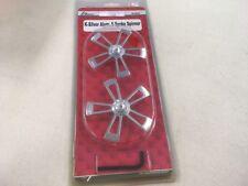 K Factory K-Silver Aluminum 5 Spoke Spinners For Traxxas Revo  Part#K1802