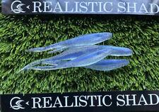 Realistic Shad Split 8cm Gudgeon , Lure,hook,predator,jig X5