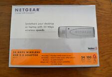 Netgear WLAN WIFI USB Stick WG111 54Mbps Neu und OVP
