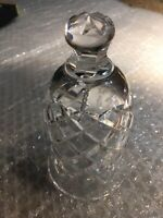 Waterford Crystal 12 Days of Christmas Bell 1993 Ten Lords A Leaping No Box