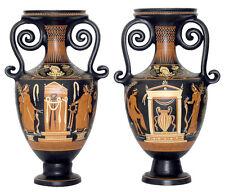 Ancient Greek Loutroforos Vase Museum Replica Reproduction