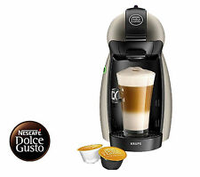 NESCAFE Dolce Gusto Manual Coffee Machine by Krups - black -Titanium