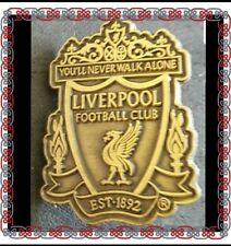 Liverpool Official Pin Badge - Club Crest - Bronze