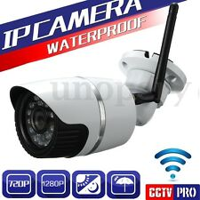 Wifi Wireless HD 720P IP Camera Network CCTV Security IR Night Vision TF Slot