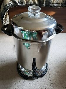 Hamilton Beach Commercial Stainless Steel Coffee Urn D50065 60 Cup!