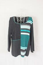 """Size 18 """"Regatta"""" Lovely Ladies Striped Top. Great Condition! Bargain Price"""