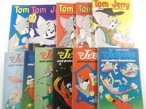 11 Stück TOM UND JERRY und DIE JETSONS Comics Neuer Tessloff Verlag 1970