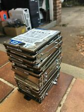 """LOT OF  ( 10 ) WD / SEAGATE 160GB HDD Laptop 2.5"""" BULK LOT OF SATA HDD"""