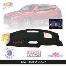 Black Dash Mat for Mazda CX-8 KG Sport Asaki Active Display 5/2018-19 CX8 DM1531