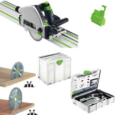 Festool scie circulaire TS 55 RQ PLUS FS + à dents fines Lame de W48 +