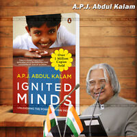 Ignited Minds, Unleashing the Power within India Book by APJ Abdul Kalam
