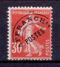 1922-47 FRANCE PREOBLITERE Y & T N° 58 Neuf * * SANS CHARNIERE (1)