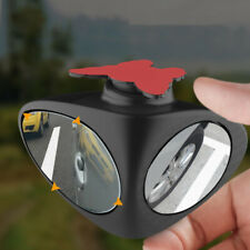1pc Car Blind Spot Mirror Wide Angle 360 Rotation Adjustable Convex Rear View