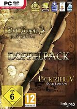 Port ROYALE 3 & patrizi 4 ORO Bundle (PC, solo Steam Key Download Code) no dvd