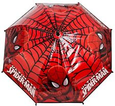 Spiderman Kids School Umbrella Brolly Dome Design Job Lot 72 pcs