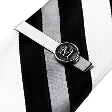 Customizable Initial Tie Clip - Tie Bar - Tie Clasp - Handmade - Gift Box