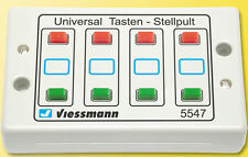 5547 Viessmann - pupitre 8 pulsadores / Push Button panel 2- aspects