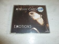 MARIAH CAREY - Emotions - 1991 UK issue 3-track CD single