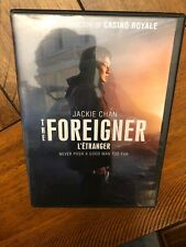The Foreigner (DVD, 2018) Free Ship Canada!