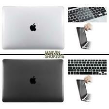 "For MacBook 11"" 12"" 13"" 15"" Crystal Case Cover + keyboard Skin +Screen Protector"