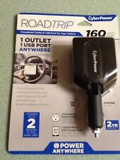"""""""New""""Cyber Power1 Outlet 1 Usb Port/We Delivery In 3 Business Days"""