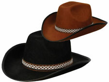 c478a24745f Adults Cowboy Hat Mens Ladies Wild West Rodeo Fancy Dress Hen Stag New