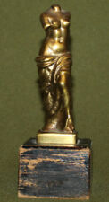 Vintage hand made brass statuette Venus de Milo