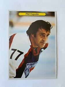 1980-81 OPC HOCKEY CARD 5x7 PHIL ESPOSITO #14 NEW YORK RANGERS