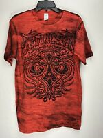 Affliction Short Sleeve T-Shirt Mens Red