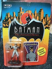 Die Cast Metal ERTL. Catwoman Figura. serie animada Batman. 1993.