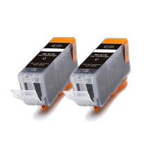 2 NEW BLACK Ink Cartridge for BCI-3eBK Canon i550 i850 i560 i860 iP3000 iP4000