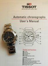 Swiss Tissot V8, Chronograph cost £395 new