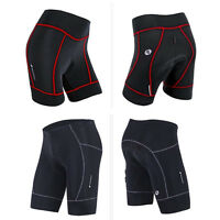 Bike Polyester 3D Bicycle Cycling Riding Shorts Padded Pant Quick Dry Breathable